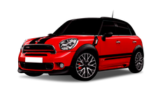 MINI COUNTRYMAN 2.0 16V TWINPOWER TURBO GASOLINA JOHN COOPER WORKS STEPTRONIC ALL4
